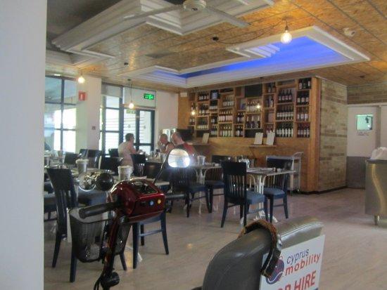 Nereus Hotel: Dining Room