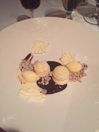 Restaurant August: dessert!