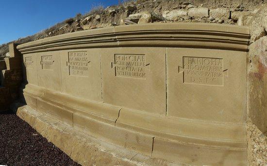 Uncastillo, Spanien: Inscripciones romanas