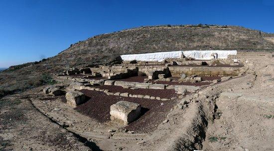 Uncastillo, Spanien: Basamentos de una vivienda romana en Los Bañales