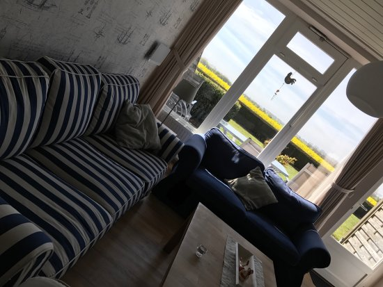 Fehmarn, Allemagne : Wohnzimmer mit tollem Blick
