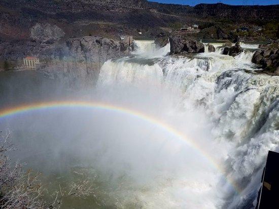 Twin Falls, ID: Falls and Rainbow