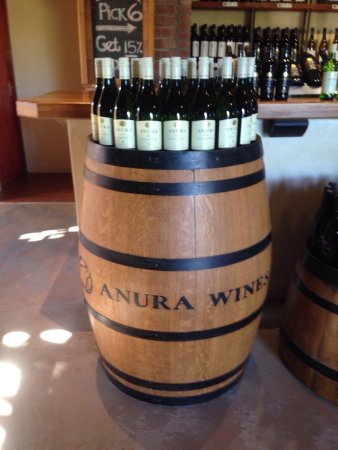 Klapmuts, Zuid-Afrika: Anura Vineyards