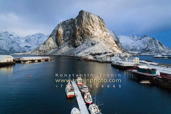 Lofoten Islands, Norwegen: Hamnoy fishing village