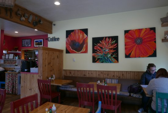 Ridgway, CO: more seating inside