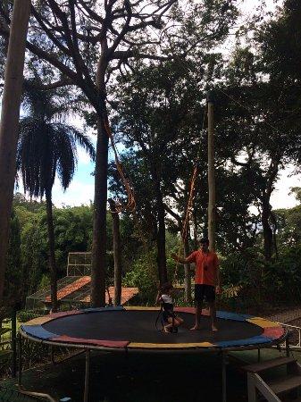 Alambique & Parque Ecologico Vale Verde: Cama elástica