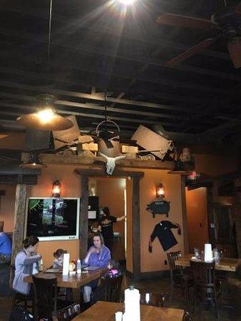 Copperopolis, Californië: inside resturant