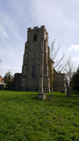 Wickhambrook All Saints church