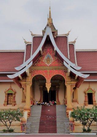 Vientiane, Laos: Wat That Luang Neua