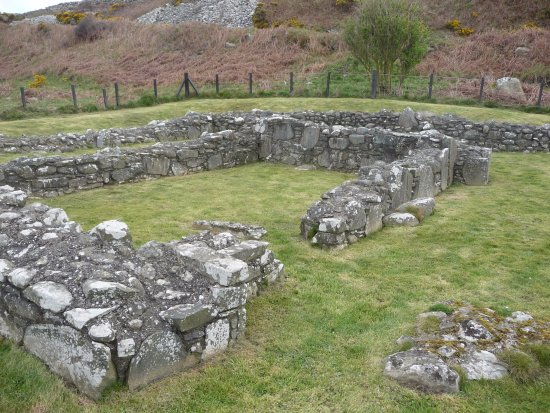 Port William, UK: Chapel remains