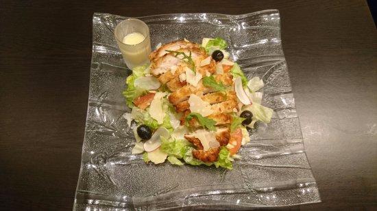 Andilly, France: La salade Caesar