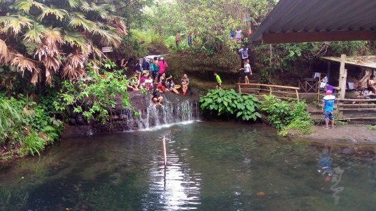 Balite Falls in Amadeo, Cavite Province