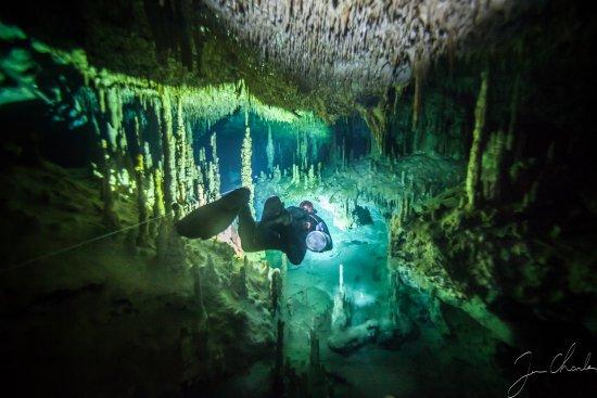 Cave Diving-Mexico (Tulum)