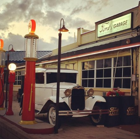 Halloween at fords garage in november 14 long time ago picture of ford 39 s garage cape - Ford garage restaurant cape coral ...
