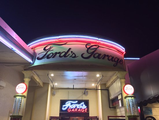 Entree fords garage cape coral picture of ford 39 s garage cape coral tripadvisor - Ford garage restaurant cape coral ...