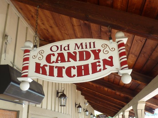 The Old Mill Candy Kitchen Picture Of The Old Mill Candy Kitchen Pigeon Forge Tripadvisor