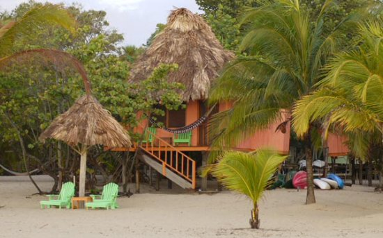 Green Parrot Beach Houses: It was a photo like this that sold us on Green Parrot, and it did not disappoint.