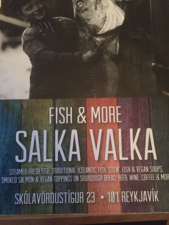 Picture of salka valka fish more for Fish and more