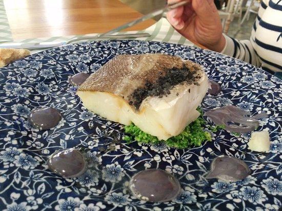 Churriana de la Vega, España: Lomo de bacalao (15 €)