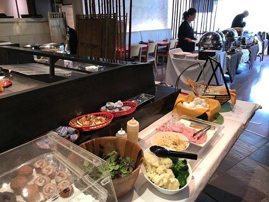 Miyako Hotel Los Angeles: 有料の朝食