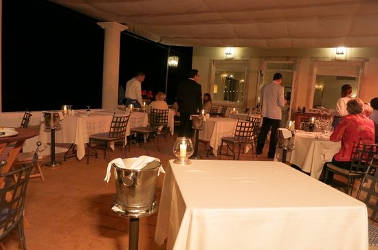 Oliviero Restaurant - Belmond Villa Sant'Andrea: On the terrace