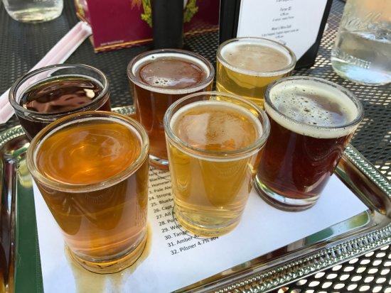 Placerville, CA: Bland beer flight