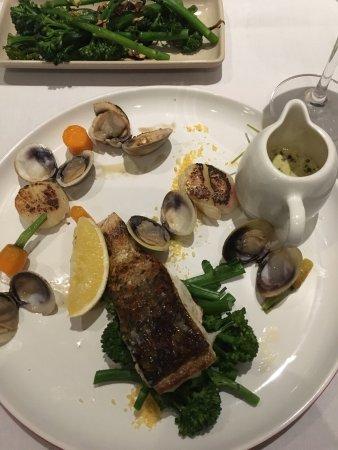 Corrimal, Australia: The fillet, barramundi and creme brûlée