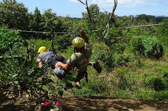 Pinilla Canopy Tour: SuperMan !