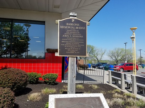 New Brunswick, NJ: the plaque