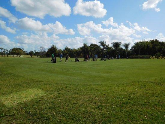 Port Saint Lucie, FL: Golf lesson range