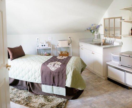 Grass Valley, كاليفورنيا: massage room