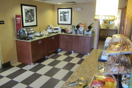 Hillsville, Wirginia: Breakfast Room