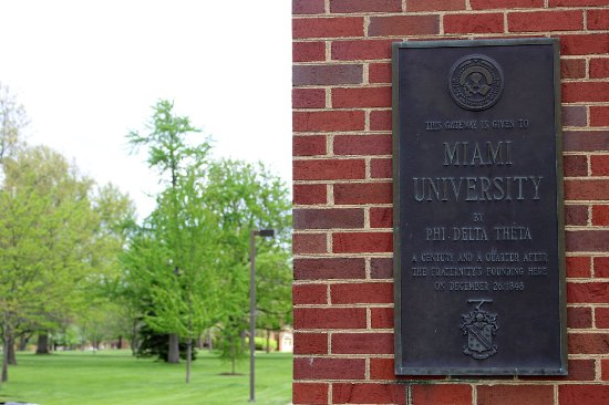 Oxford, OH: Miami University gate