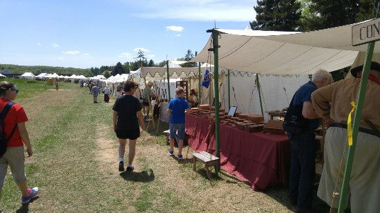 Fort Frederick State Park Tents and exhibits for the 18th Century Market Fair & Tents and exhibits for the 18th Century Market Fair - Picture of ...