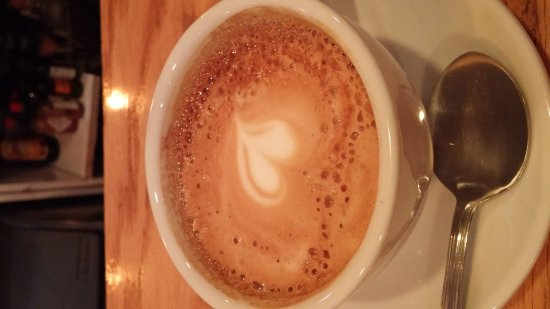 Faberge: Alouette omelette with a latte