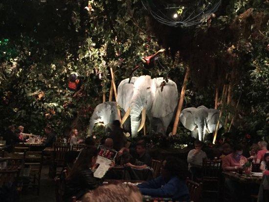 Rainforest Cafe Reviews Niagara Falls