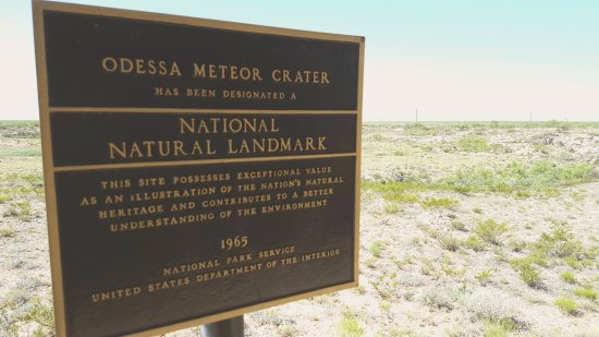 Odessa Meteor Crater and Museum