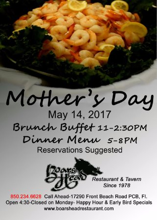 Mother S Day Brunch Buffet Seafood Carved Prime Rib Boar S