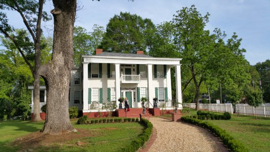 Monticello, GA: front view,porch is out of view to the left