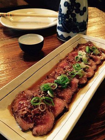 Yakitori Daruma Japanese Sake Bar : Juicy Beef Tataki Yeah!!