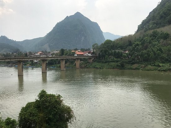 Nong Khiaw, Laos: Nong Kiau Riverside Resort Restaurant