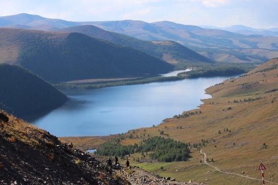 Ovorkhangai Province, Mongolië: Eight lakes!