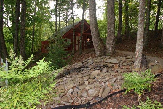 Honeymoon Hills Cabin Rentals: Peaceful, quiet setting.
