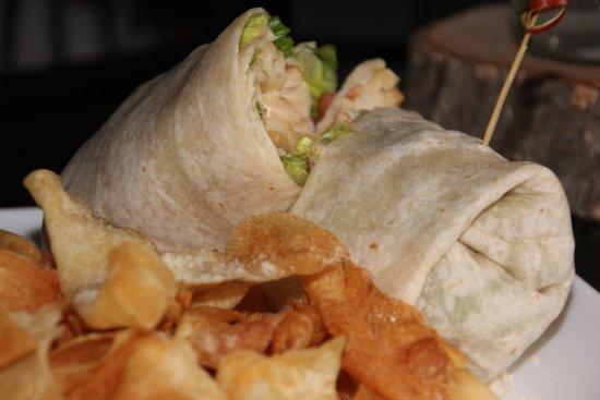Geneva, IL: country chicken wrap