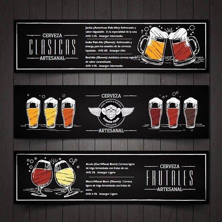 Grecia, Costa Rica: Nuestras cervezas artesanales