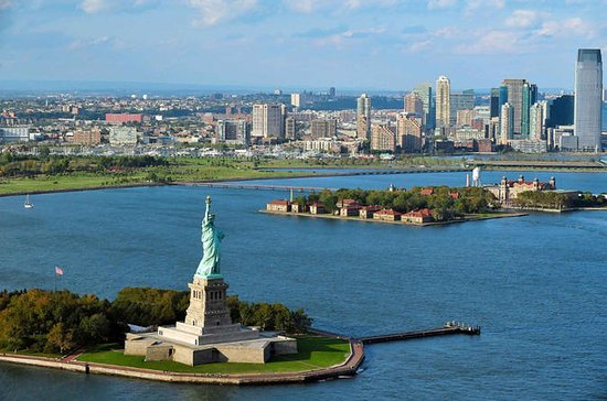 Statue of Liberty and Ellis Island...
