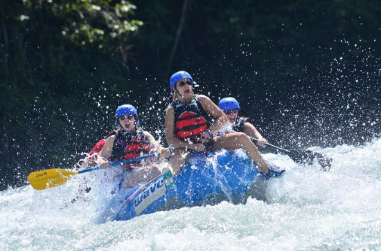 Whitewater River Rafting Class III-IV from San Jose to Arenal
