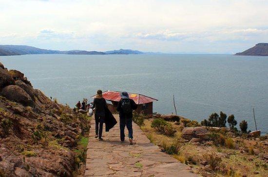 Ganztägig geführte Titicaca-Tour...