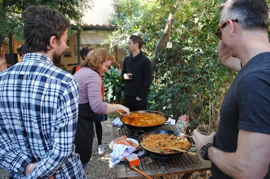 Paella and Tapas Small-Group Cooking...