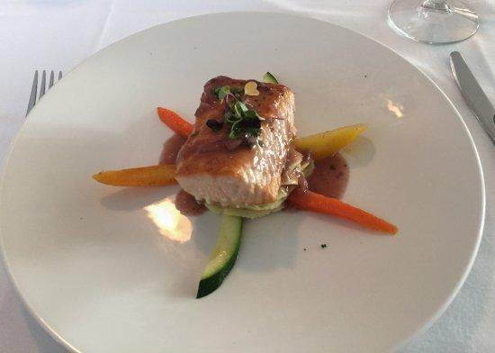 Maple City, MI : Salmon entree